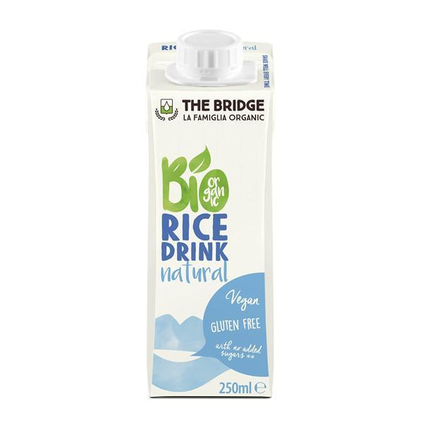 Био Оризова напитка, Натурална, 250ml, The Bridge