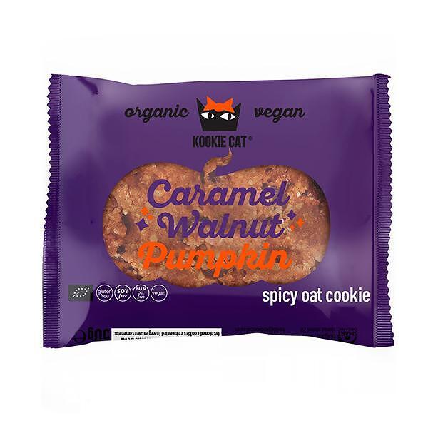 Есенна курабийка с тиква и карамелизирани орехи, 50g, Kookie Cat