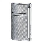 Запалка S.T. Dupont MaxiJet, сива (мрежест дизайн)