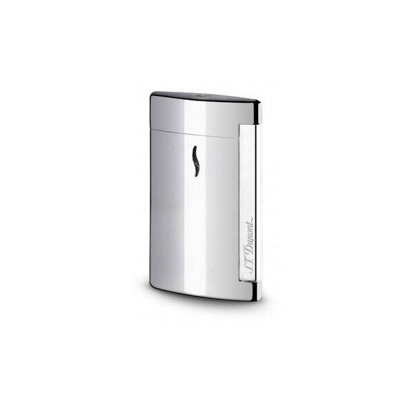 Запалка S.T.Dupont MiniJet, сива, полирана