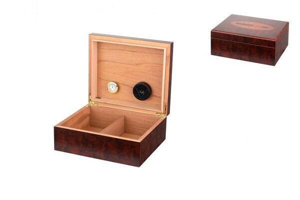 Кутия за пури (хумидор) Winjet - Angelo, кафява