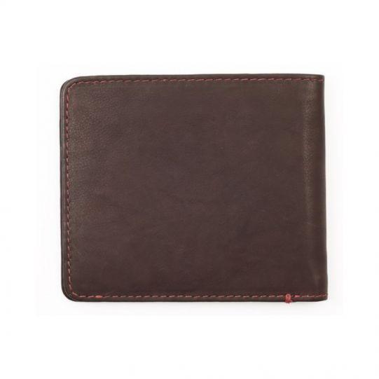 Мъжки портфейл Zippo, естествена кожа, кафяв