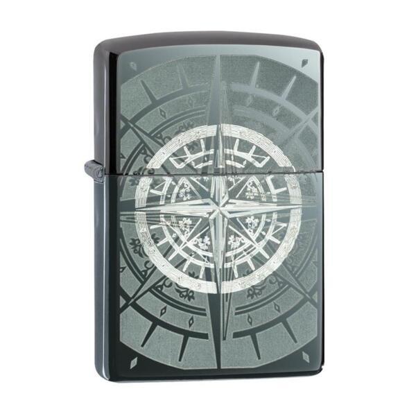 Запалка Zippo 29232 Black Ice® Compass