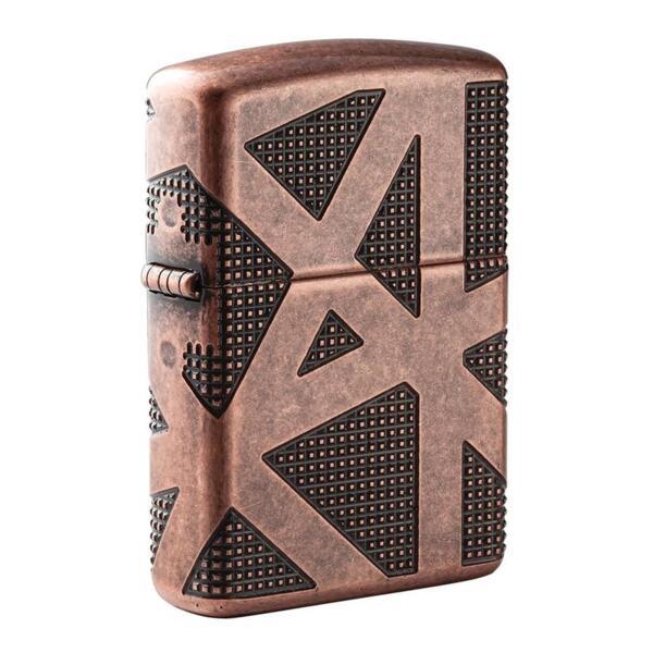 Запалка Zippo 49036 Armor® Geometric 360 Design
