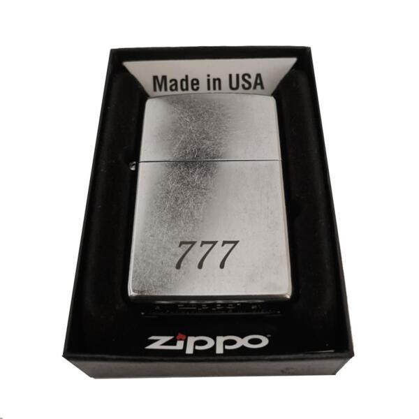 Запалка Zippo 207 Street Chrome, С ГРАВЮРА