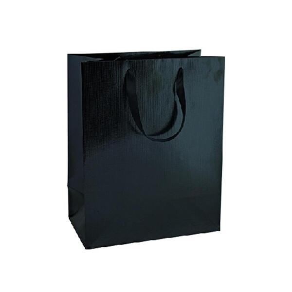 Подаръчно пликче Unicart - Fashion Bag, черно, 33x26x14 см