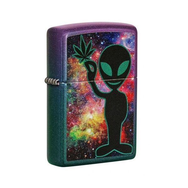 Запалка Zippo Green Alien