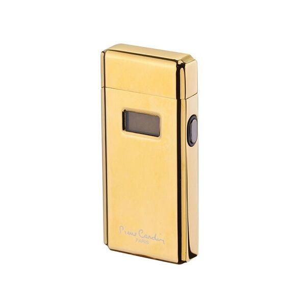 Плазмена запалка Pierre Cardin с LED дисплей, златиста