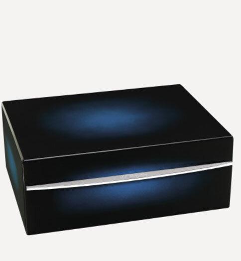 Кутия за пури (хумидор) S.T.Dupont CIGAR UNIVERSE HUMIDOR синя