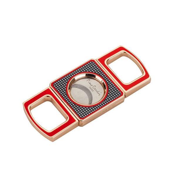 Резачка за пури - Pierre Cardin - червено/златисто