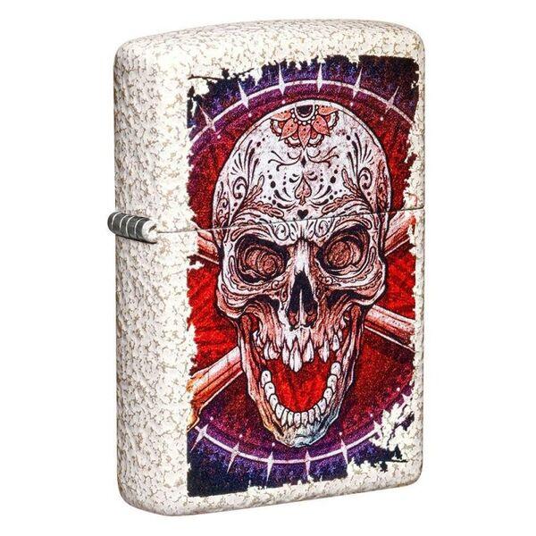 Запалка Zippo Artistic Skull Design