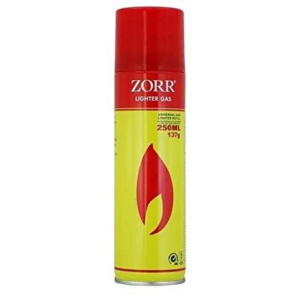 Газ за запалки Zorr, 250 ml. (универсална)