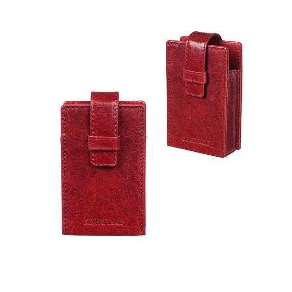 Калъф за 100 мм слим цигари, червен