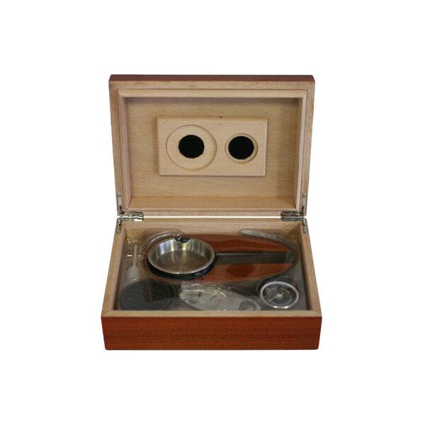Кутия за пури (хумидор) ZORR, кафява