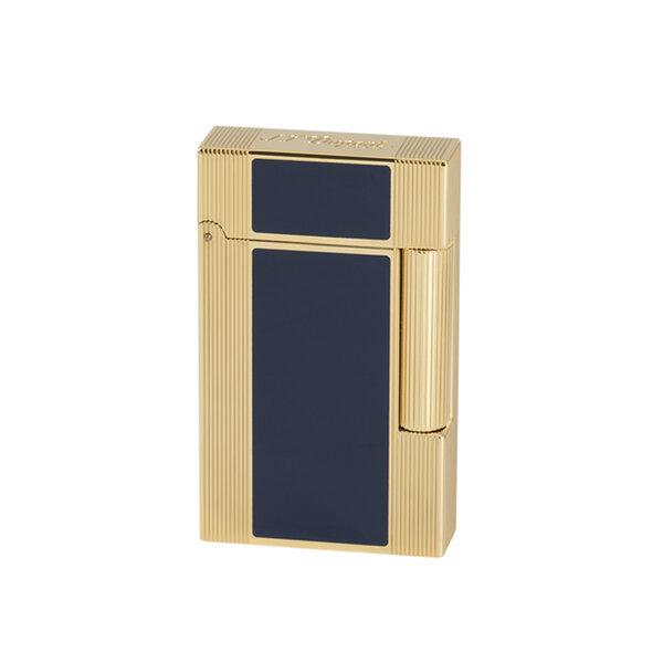 Запалка S.T. Dupont Ligne 2 WINDSOR YELLOW GOLD&BLUE