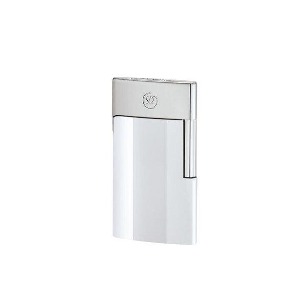 Запалка S.T.Dupont E-Slim white-chrome