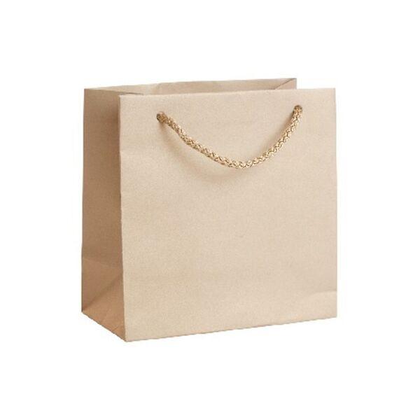 Подаръчен плик, златист, размер S