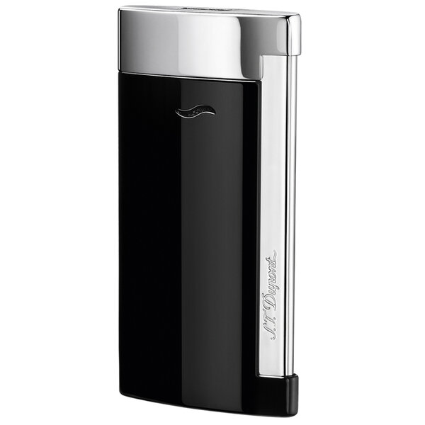 Запалка S.T. Dupont Slim 7, черен лак