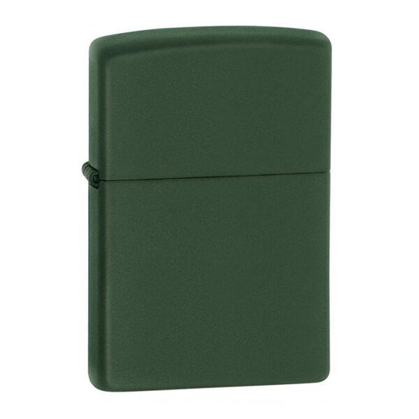 Запалка Zippo 221 Green Matte