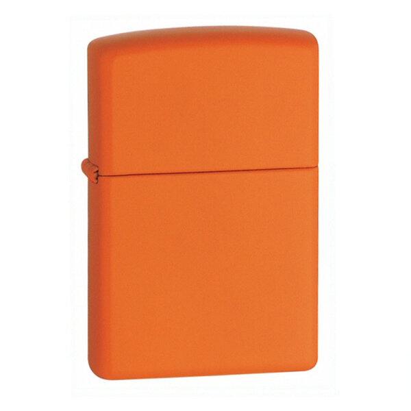 Запалка Zippo 231 Orange Matte