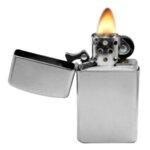 Запалка Zippo 1605 Slim, Satin Chrome