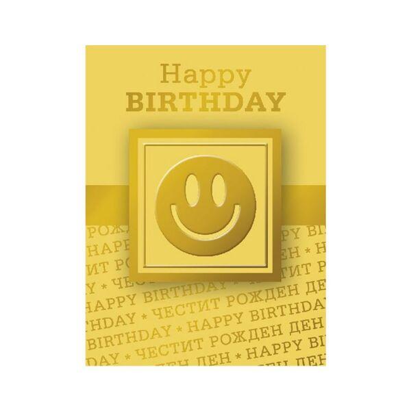 """Mини поздравителна картичка """"Happy BIRTHDAY"""""""