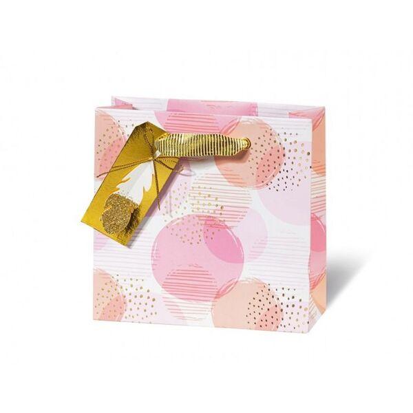 Подаръчен плик PINK STYLE 14.5 x 15 x 6 см