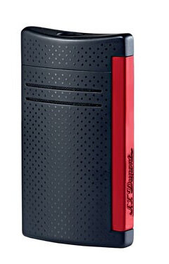 Запалка S.T. Dupont MaxiJet Matt black & red