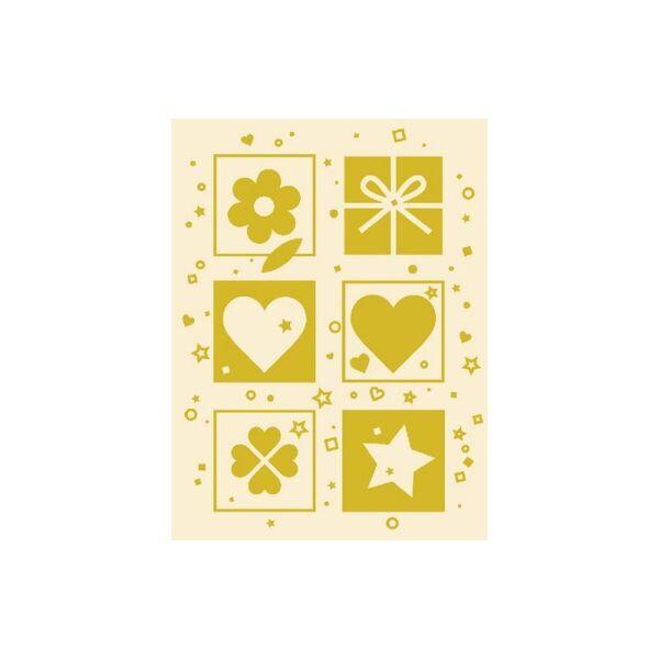 """Мини поздравителна картичка """"Gold"""""""