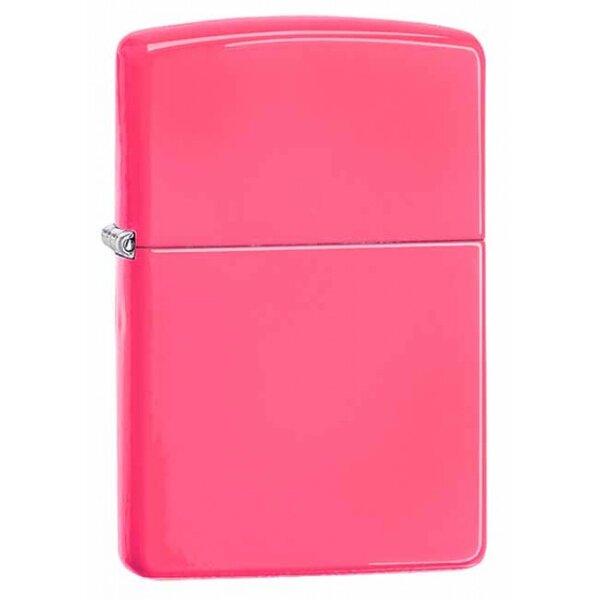 Запалка Zippo Neon Pink