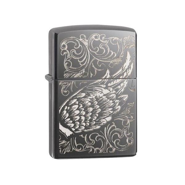 Запалка Zippo Filigree Flame and Wing Design