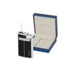 Запалка Silver Flame SF258, черно/хром