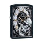 Запалка Zippo 29854 Skull Clock Design