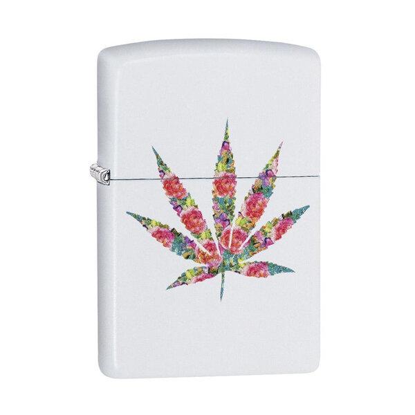 Запалка Zippo Floral Weed Design