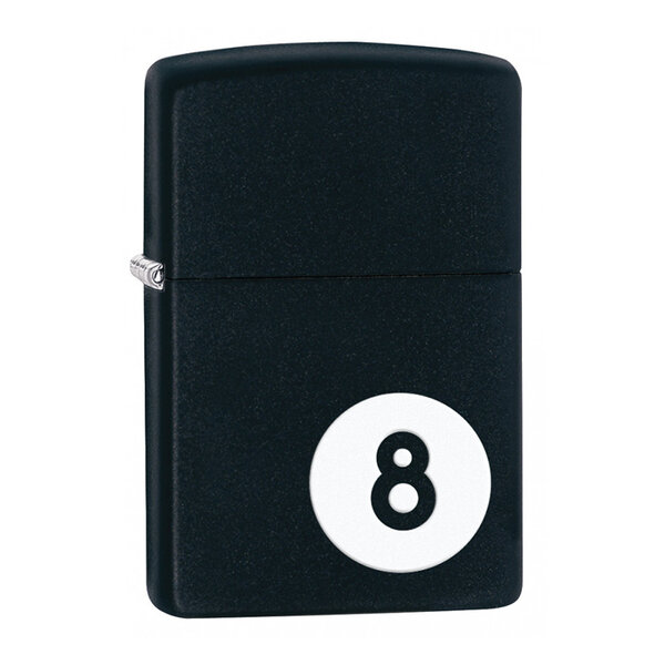 Запалка Zippo 28432 8-Ball Black Matte