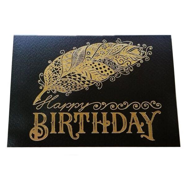 """Поздравителна картичка """"Happy Birthday - Pen """""""