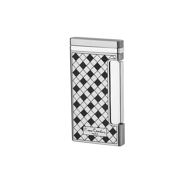 Стилна запалка Pierre Cardin - Checkmate, сребриста