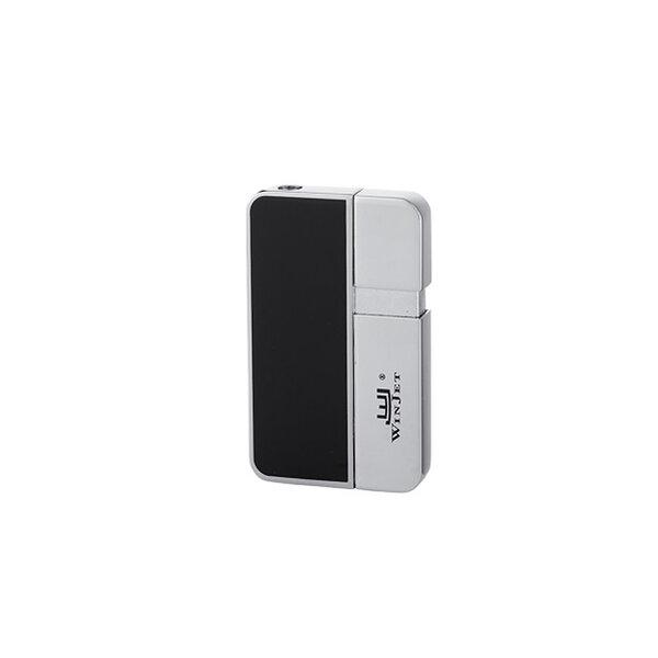 Запалка WinJet - Premium, черна-хром
