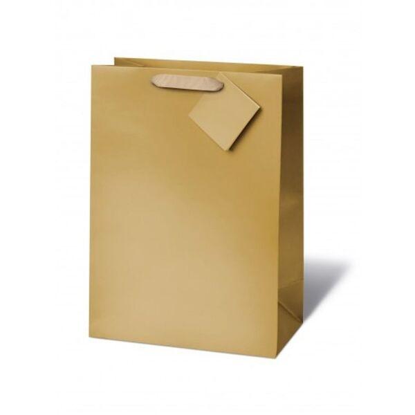 Подаръчен плик MATT GOLD 33 x 26 x 14 см