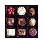 Поздравителна картичка Честит празник - Сладкиши, с 3D ефект, с плик