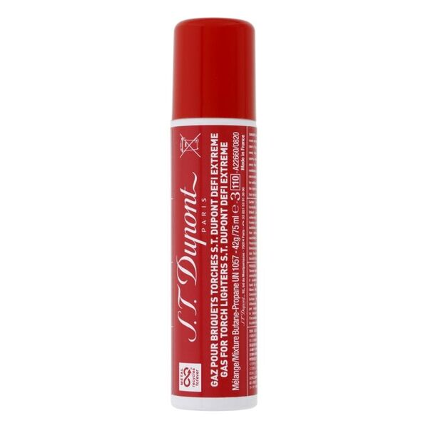 Газ - флакон S.T Dupont 75ml червен