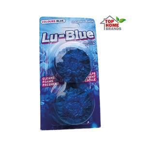 Tаблетки за тоалетно казанче Lu-Blue, синя вода, 2 бр