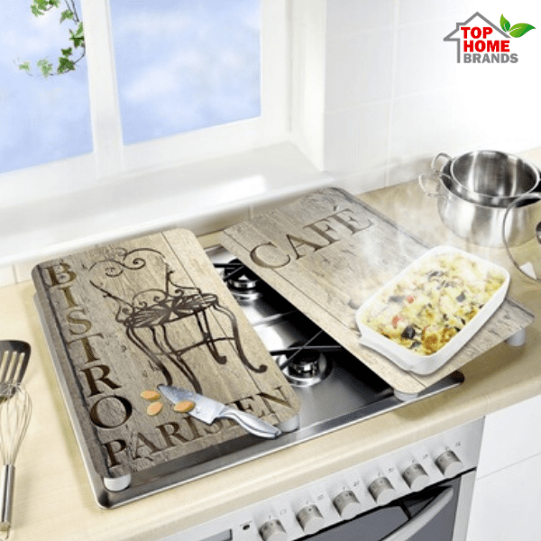 Стъклени плотове за кухня Wenko, Bistro, 2 бр