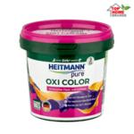 Прах против петна и мазнини HEITMANN pure, Oxi Color, 500 г