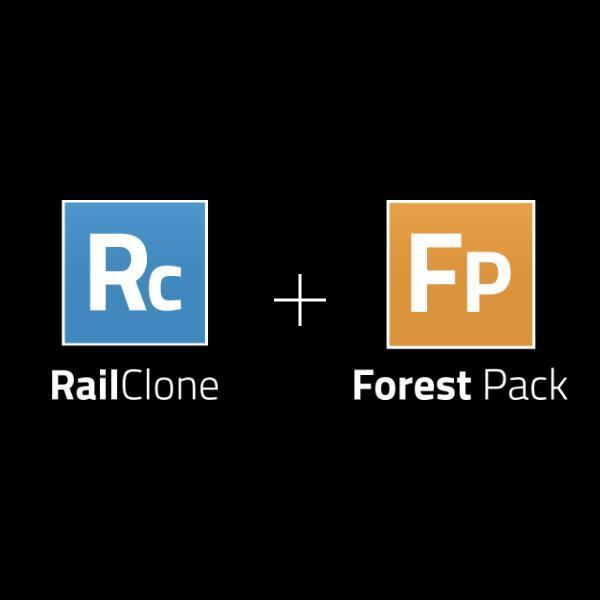 RailClone Pro & Forest Pack Pro Bundle