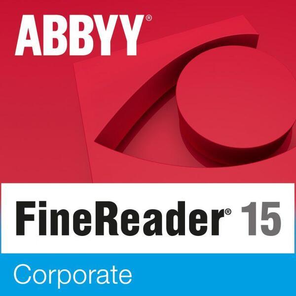 Abbyy FineReader PDF 15 - Corporate - Single User