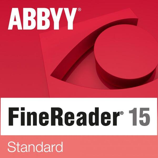 Abbyy FineReader PDF 15 - Standard - Single User