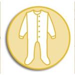 Бебешки гащеризон Cosilana 100% мерино, син