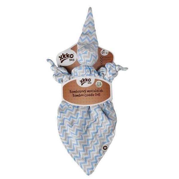 Одеялце за гушкане Baby Blue Chevron