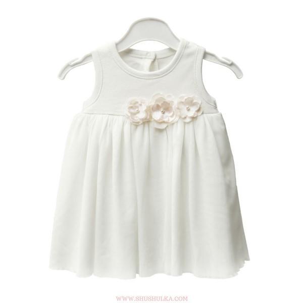 Официална рокличка от органичен памук